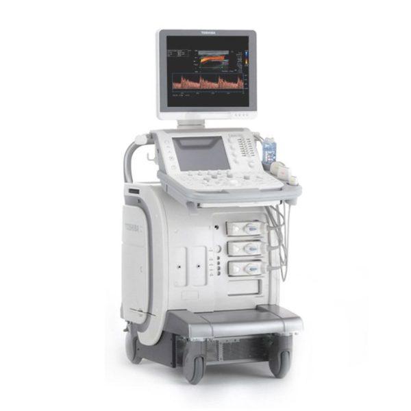 Toshiba Aplio 500 CV Platinum Ultrasound Machine