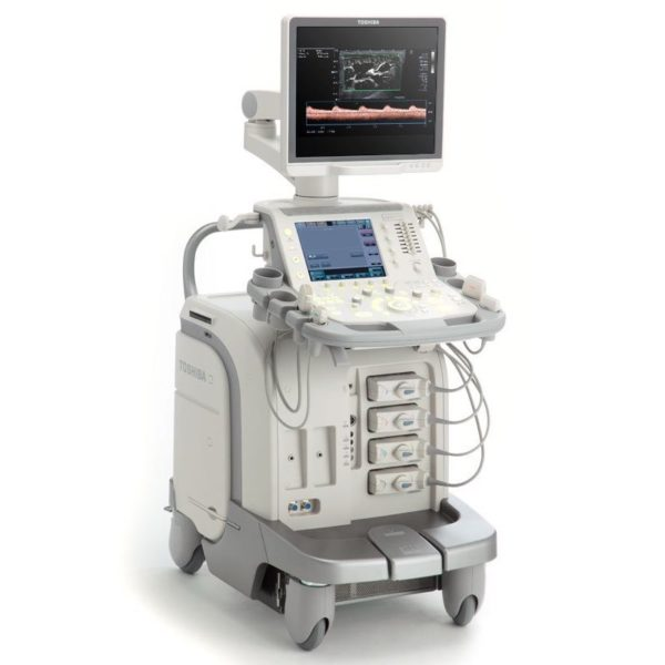 Toshiba Aplio 500 Platinum Ultrasound Machine